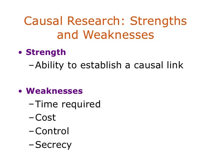strength and weaknesses of secret recipe