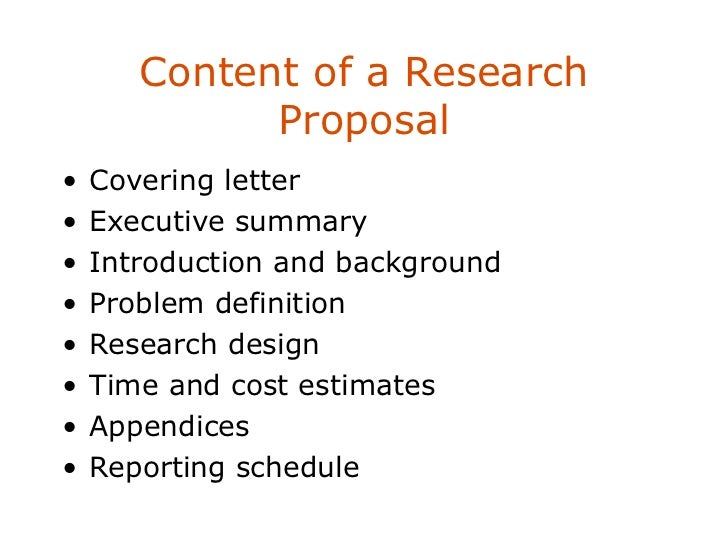 contents of social sciences research proposal Appendix 1: sample research proposals  the main features of the first proposal,  social sciences.