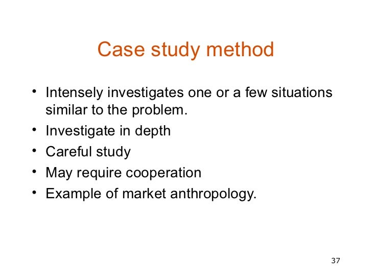 Case study method in psychology research