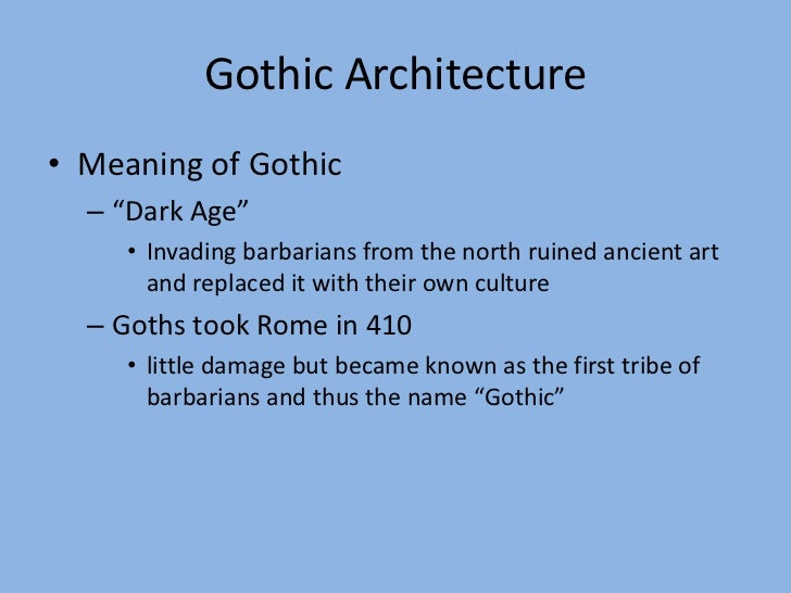 origins of gothic architecture essay Get this from a library essay on the origin, history, and principles, of gothic architecture [james hall.