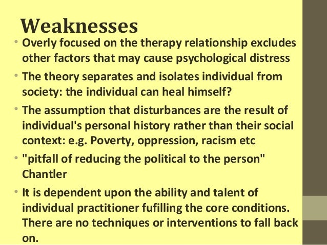 strengths of humanistic approach
