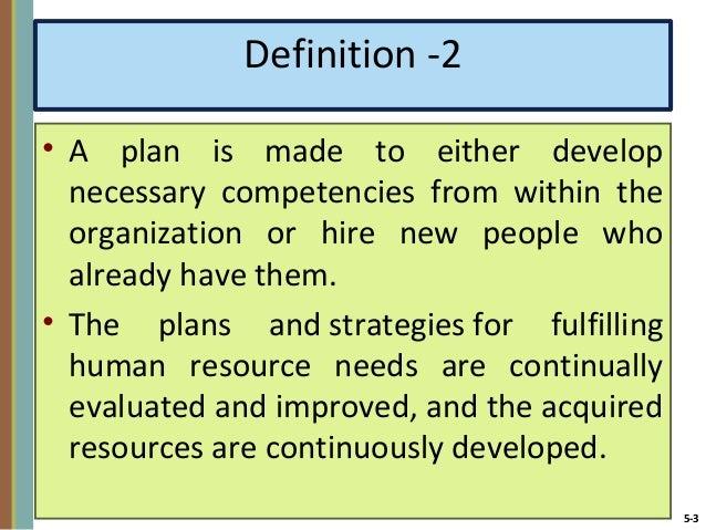 importance of human resource planning pdf