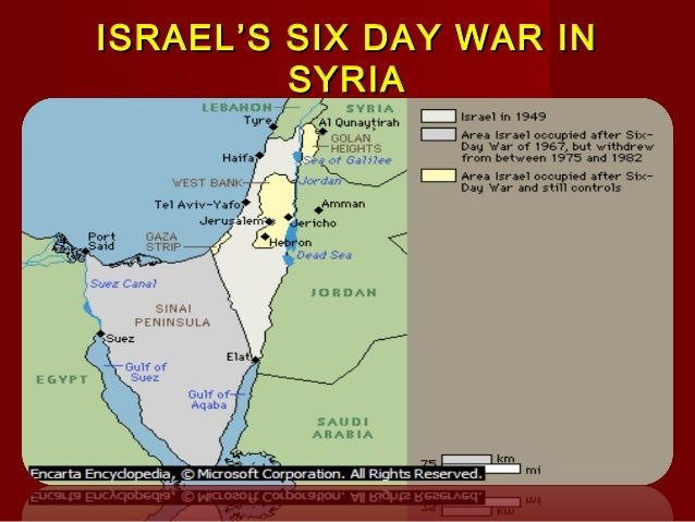 the history of the six day war Why history still matters: the 1967 six-day war without understanding what  happened in the past, it's impossible to grasp where we are today.