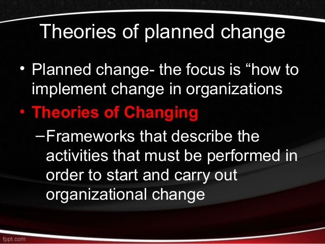 Introduction to organisational development.