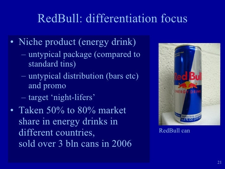 distribution channels for red bull Essays - largest database of quality sample essays and research papers on distribution channels for red bull.