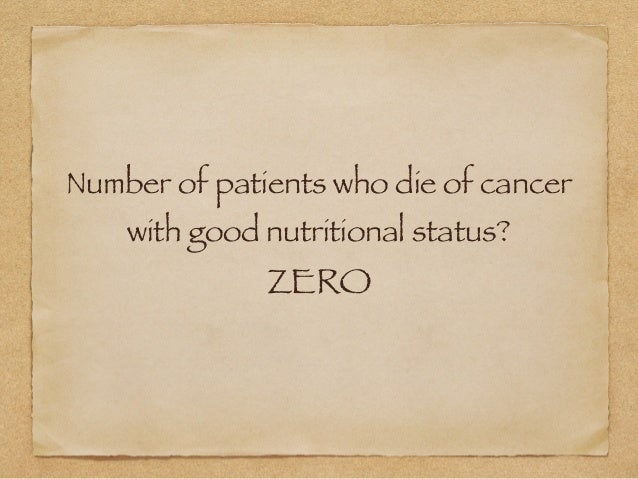 Learn Cancer Nutrition