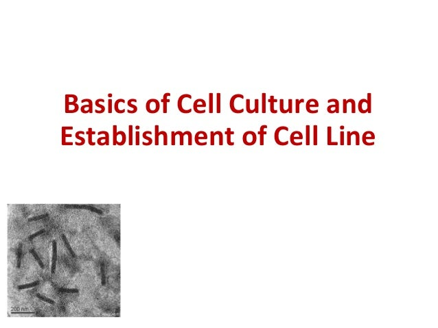 cell Tissue culture