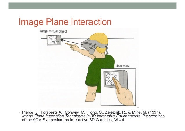 COMP 4010 - Lecture 4: 3D User Interfaces