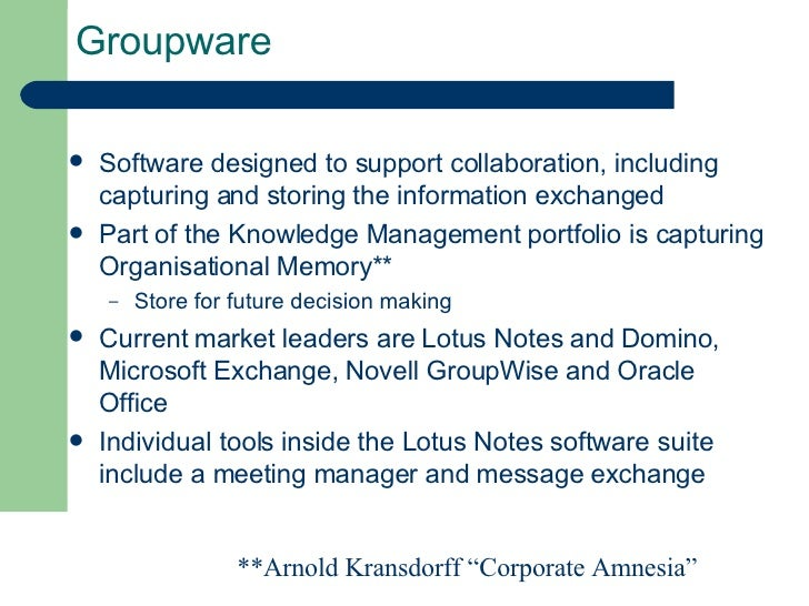 groupware and decision Assignment 1 do a literature review clearly explaining the functionalities of groupware and group decision support systems more about essay on groupware.