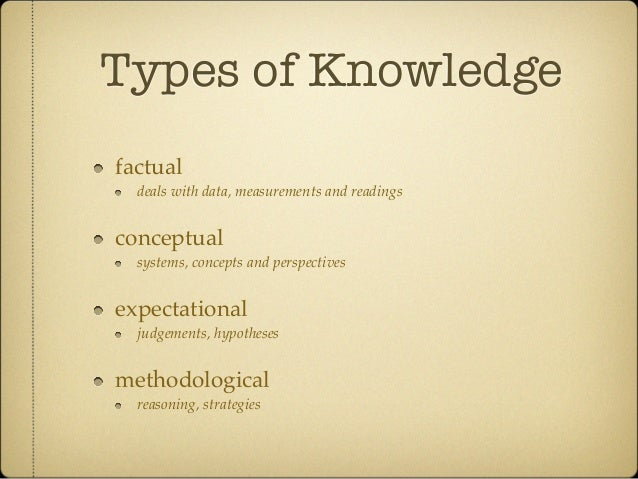 the types of knowledge management Your strategy should determine the types of information to target for processing through knowledge management  knowledge management creates knowledge and access .