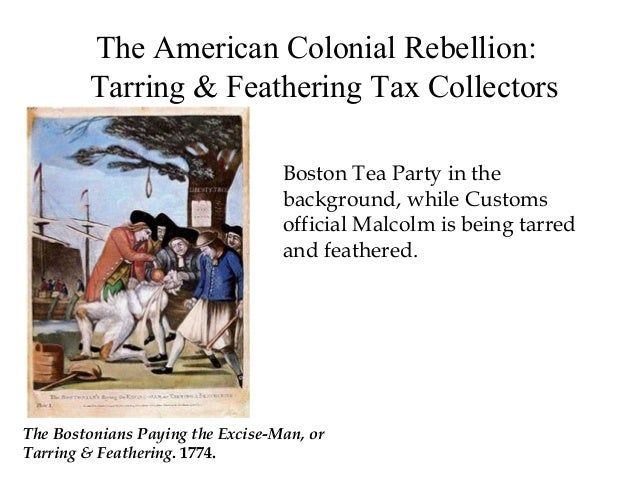 Boston Excise Tax >> Lecture 4 moving toward revolution - online- 3.2015