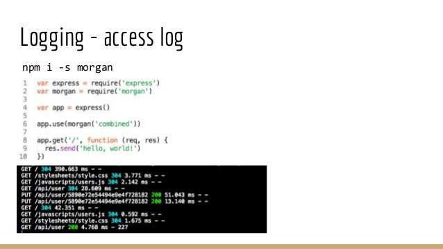 Academy PRO: Node js in production  lecture 4