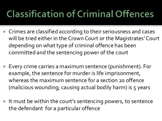 powers of criminal courts