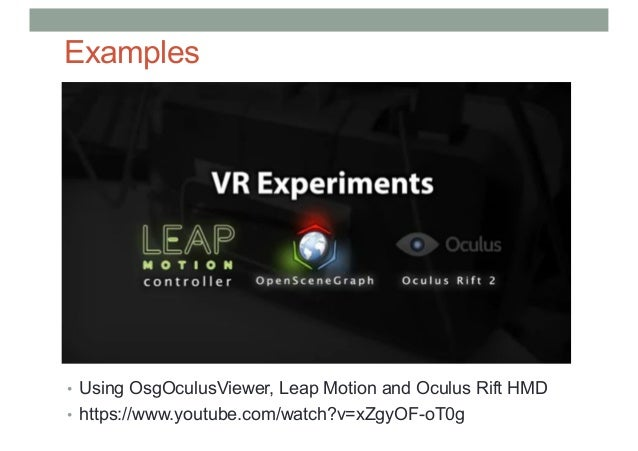 Lecture 4: VR Systems