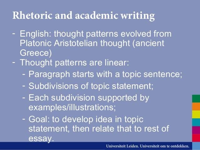 writing academic essays examples