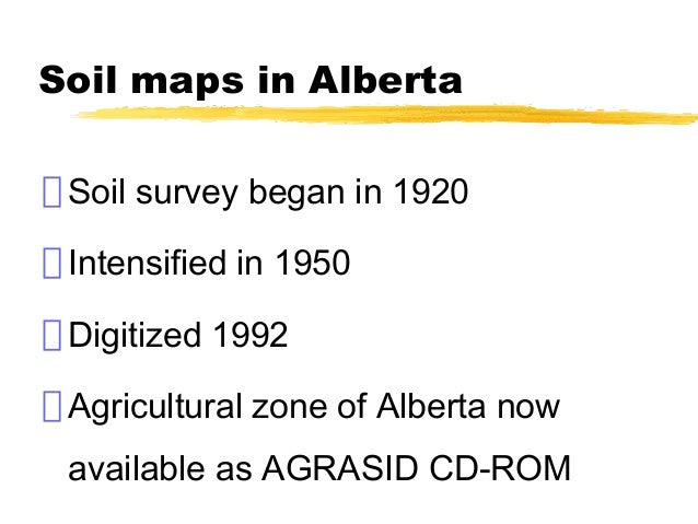 Lecture 4 canadian soil classification for Soil zones of alberta
