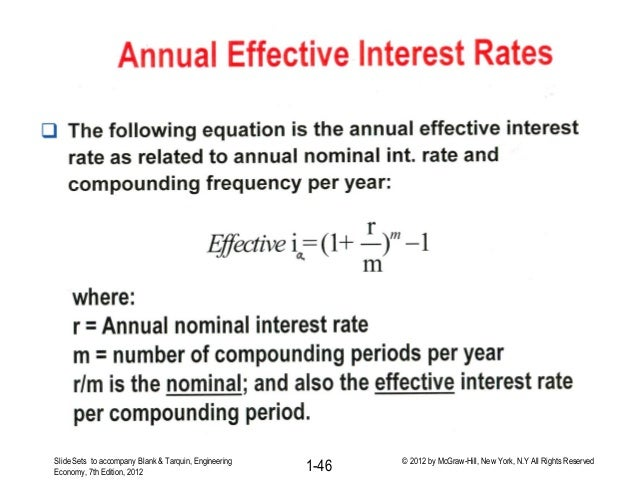 Lecture 4 Gradients Factors And Nominal And Effective Interest Rates