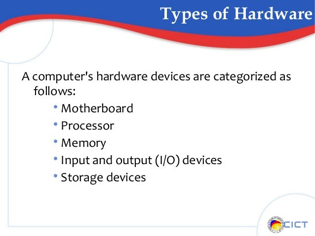 TYPES OF HARDWARE DEVICES DOWNLOAD