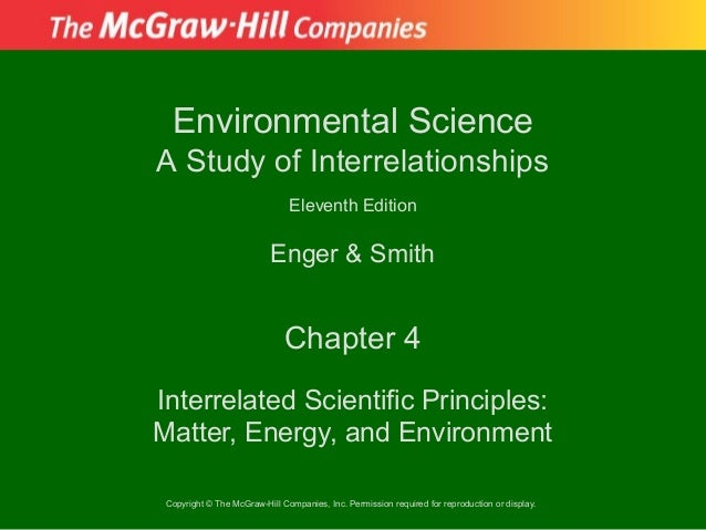 Environmental ScienceA Study of Interrelationships                               Eleventh Edition                         ...