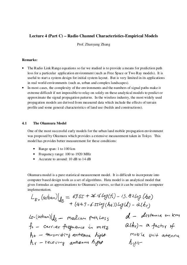 empirical analytical model