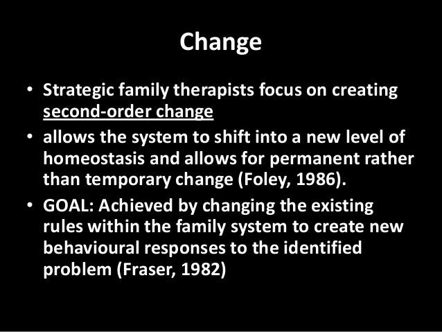 strengths of strategic family therapy