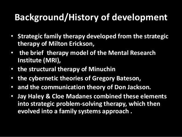 problem solving therapy jay haley pdf