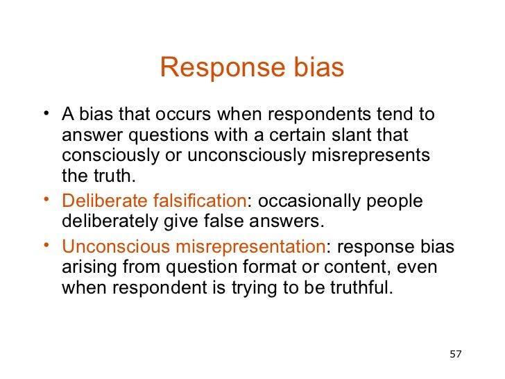 questions and answers on selection bias Techniques questioning  questioning traps bias | leading questions  push or shove the other person towards a particular answer and away from other answers.