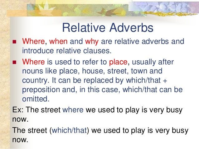 how to use relative clause pdf