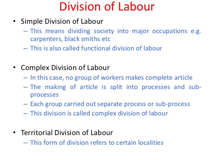 new international division of labour pdf