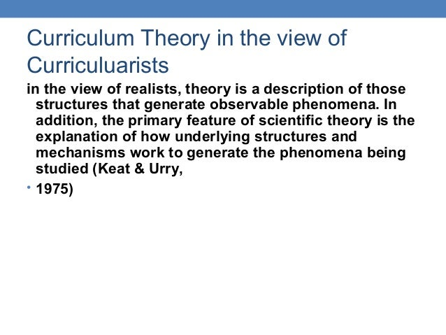 philosophy of curriculum Philosophy for children (p4c) is an approach to learning and teaching that aims  to develop reasoning and judgement students learn to listen to and respect.
