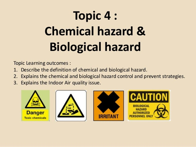 a study of biological hazards