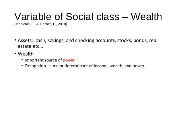 social class is still the determinant Social change: social change, in none is the sole determinant of social change most large-scale and long-term social developments in any society are still.
