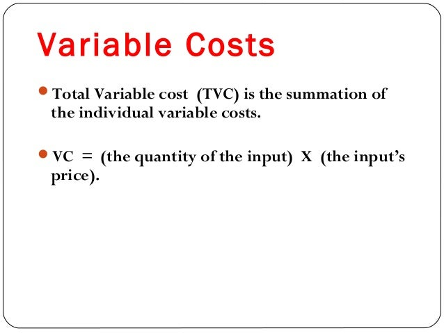fixed costs exist only in the short run Fixed costs refer to those expenditures incurred by the firm which remain fixed cost and variable cost in these costs are found only in the short-run.