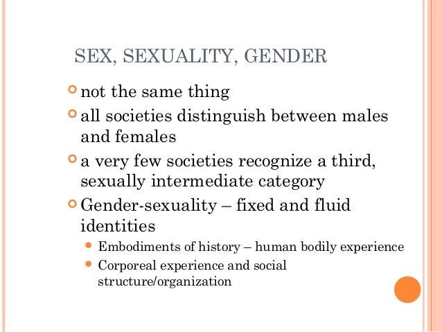 an introduction to the social construct of gender and the differences between sex and gender Introduction sex is what was ascribed by biology: hormones, anatomy, and  physiology  differences, which can explain gender differences such as senses,   argued femininity and masculinity are rooted in the social (one's gender)  rather.