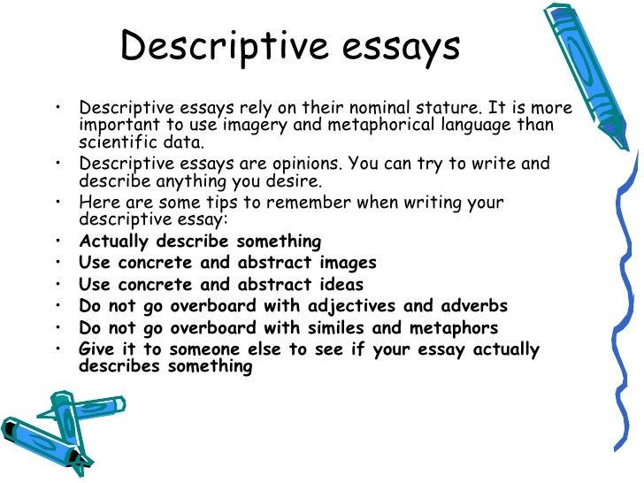 writing a descriptive essay co writing a descriptive essay