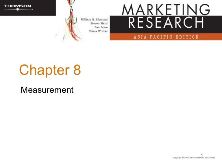 Chapter 8Measurement              1