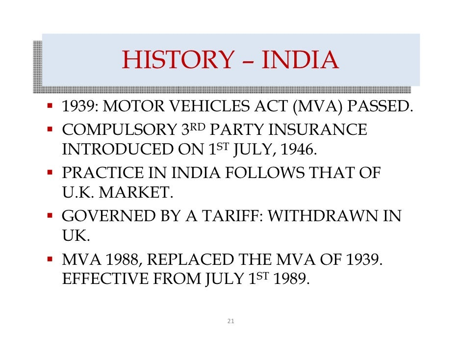 insurance in india history