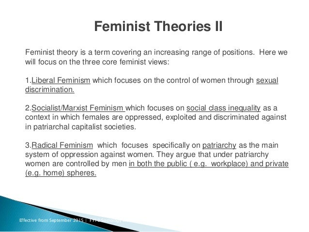 Social theories of gender and sexuality