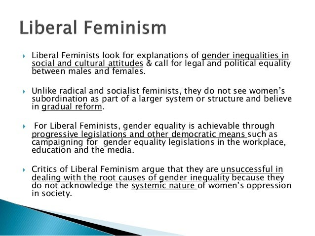 Feminist view on sexuality