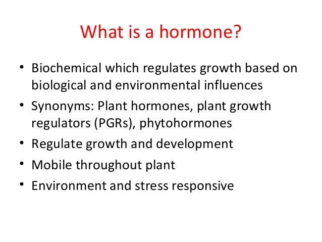 lecture 5 plant hormones 2014, Human body