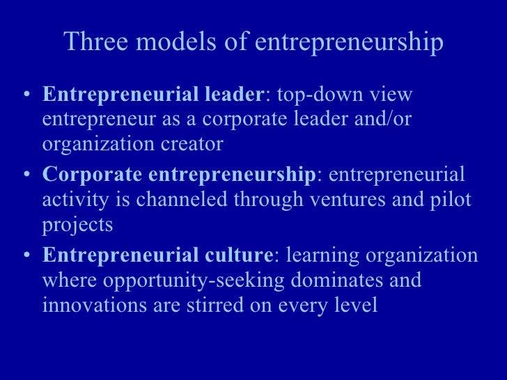 The Institute for Leadership and Entrepreneurship