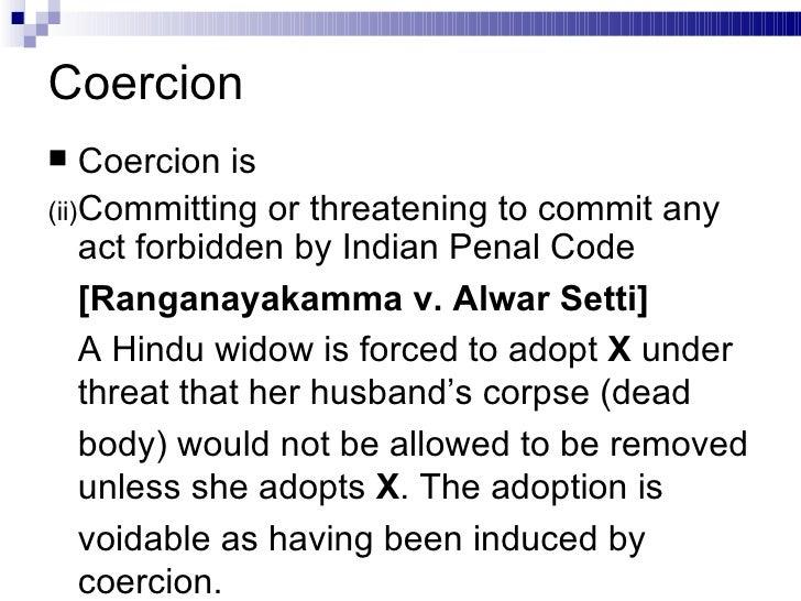 Ranganayakamma vs alwar setti case