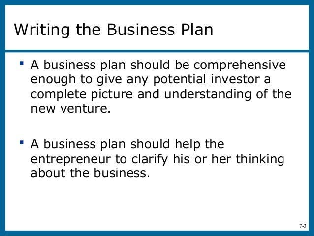 Use Develop Business Plan New Venture includes