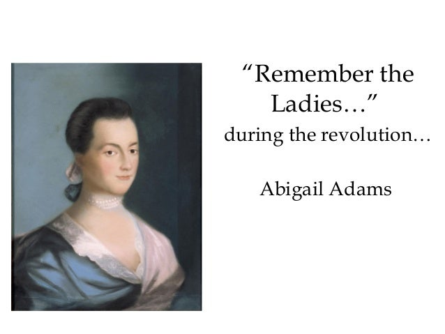 abigail adams remember the ladies pdf