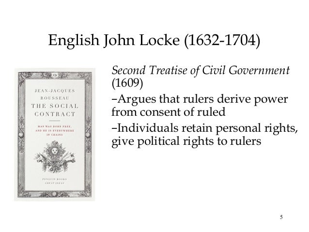 a discussion on natural equality and civil society in second treatise of government by john locke Template:locke template:refimprove the two treatises of government (or two treatises of government: in the former, the false principles and foundation of sir robert filmer, and his followers, are detected and overthrown the latter is an essay concerning the true original, extent, and end of civil-government) is a work of political philosophy published anonymously in 1689 by john locke.
