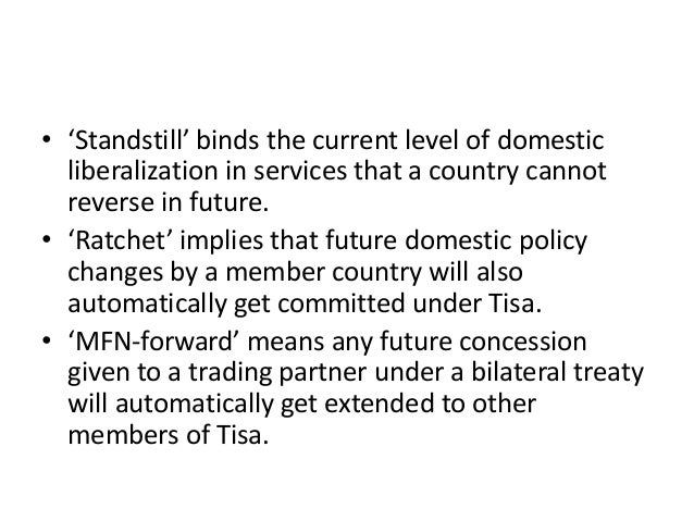 Lecture # 63   trade in services agreement (tisa) Slide 3