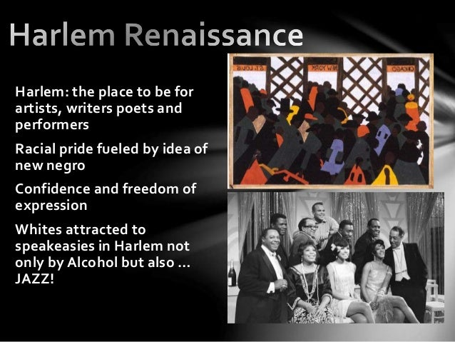 The Harlem Renaissance Poets and Musicians - TimBookTu