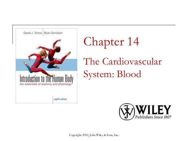 Chapter 14 The Cardiovascular System: Blood  Copyright 2010, John Wiley & Sons, Inc.