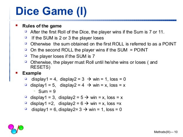 Rules for Dice Games : Playing Under Over 7 the Gambling ...
