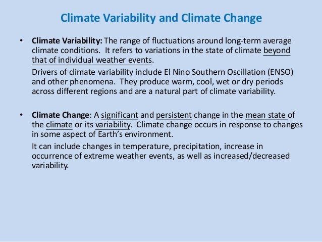 The Corner On Character Climate Changers 3: Lecture 7 Hk Climate, Its Long Term Trend And Variability